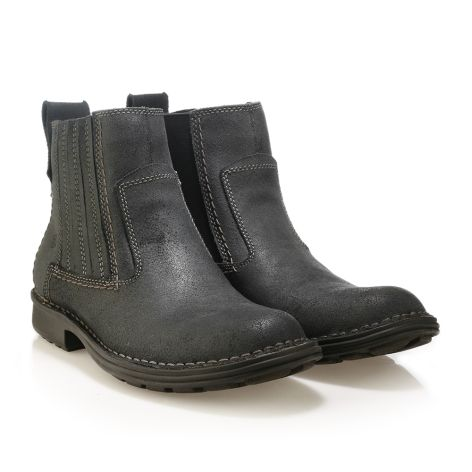 Bussola leather boots Black