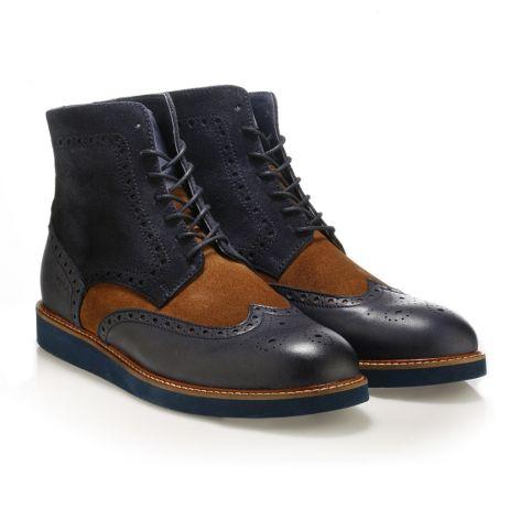 Jack Morgan boots Navy/Tan