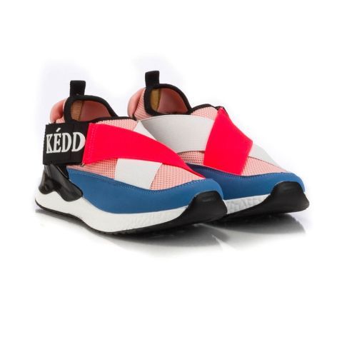 keddo pink/blue athletic womens shoes  ροζ/μπλε