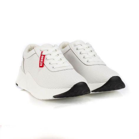 keddo white athletic womens shoes  λευκό
