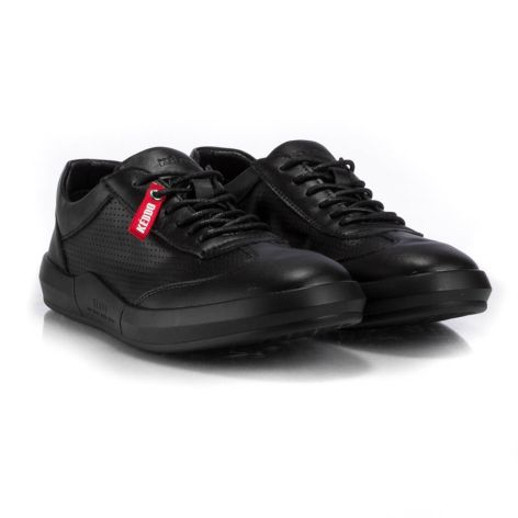 keddo black athletic mens shoes  μαύρο