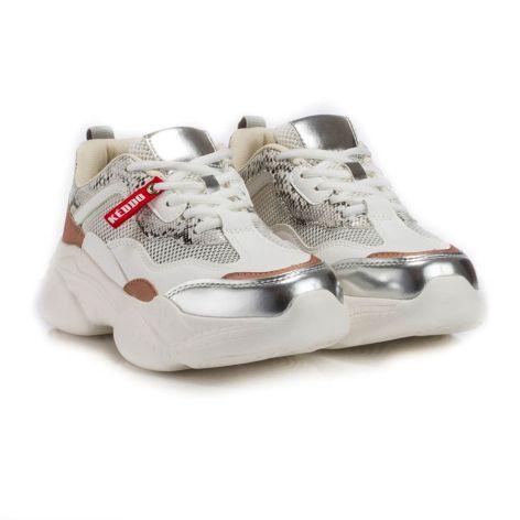 keddo beige/snakeskin athletic womens shoes  μπεζ