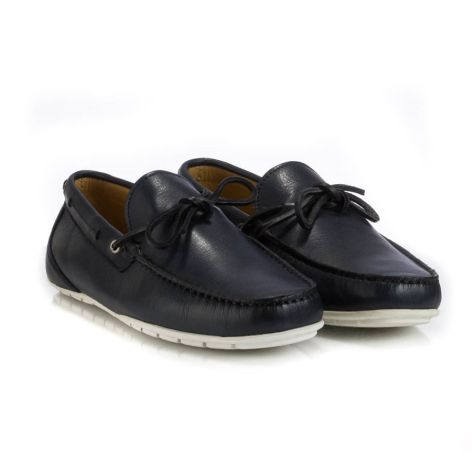 Tsilinikos men moccassins Μπλε